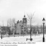 Djurgårdsvägen 15. Wicanderska villan 1890-1910