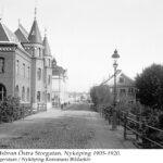 Gamla Stadsbron Östra Storgatan, Nyköping 1905-1920
