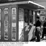 Pressbyrån på Stora Torget 13.03.1948