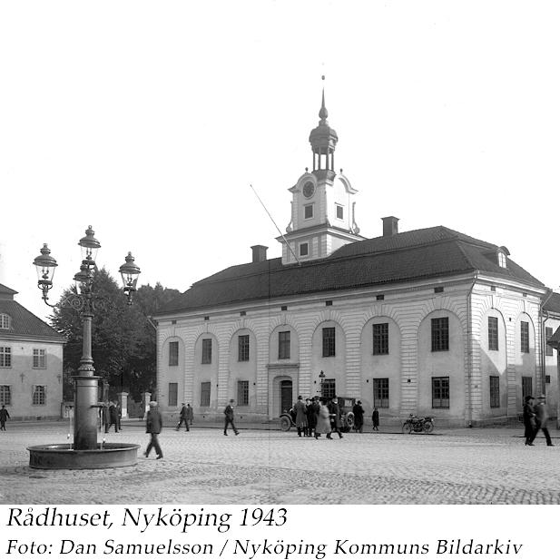 Rådhuset 1924, Dan Samuelsson