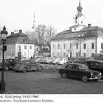 Rådhuset och Ambrosiahuset, Stora Torget 1943-1960