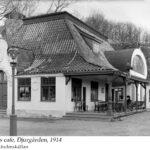 Reinholds cafe, Djurgården, 1914